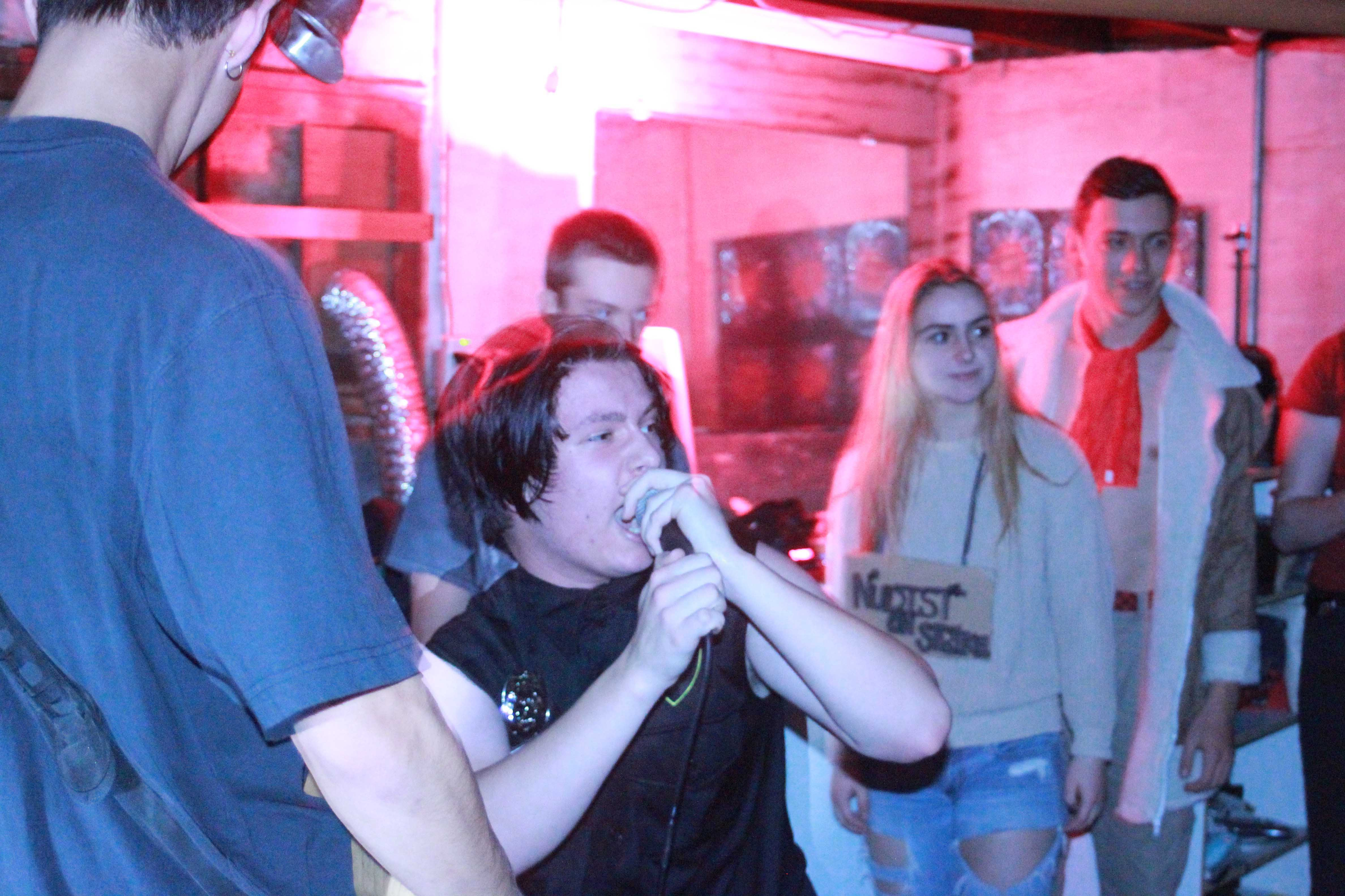 Sharlie, others play basement show