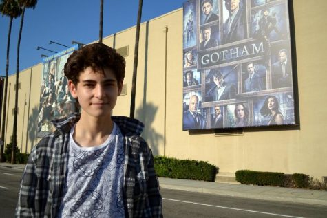 'Gotham' star and sophomore, David Mazouz, balances stardom with studies