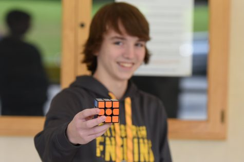 Hip to be Square: Tyrone Junior Excels in Rubik's Cube Speed Solving Competitions