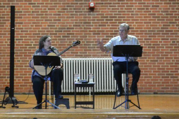 Nashville Actors, Robert Kiefer and Carol Ponder, Perform 'My Father's War' to Central Students