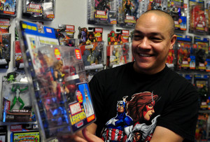 Kind of an obsession: Teacher shares love for action figures