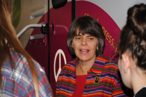 Mary Beth Tinker takes her rights on a tour