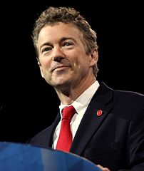 Sen. Rand Paul of Kentucky speaking at the 2013 Conservative Political Action Conference (CPAC) in National Harbor, Md.