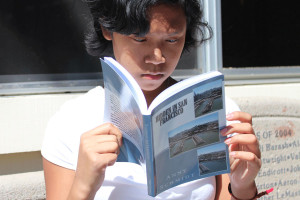 California freshman self-publishes murder mystery novel