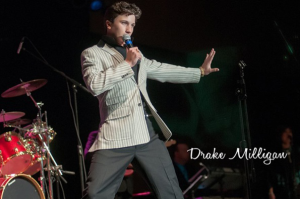 All shook up: Sophomore performs as Elvis impersonator