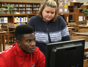 Helping to find reliable sources, librarians aid student projects