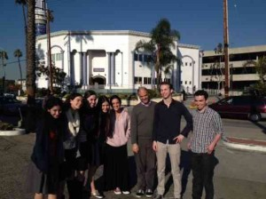 On mosque visit, class views a different culture of the Middle East