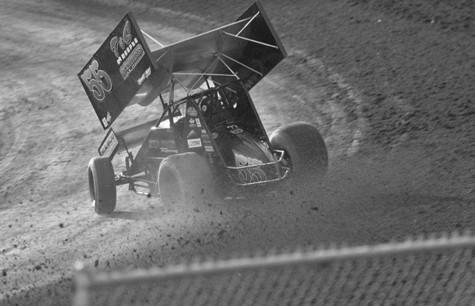 Racing toward a win — on the dirt track