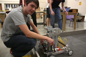 Building his future: Junior competes in Destination Imagination, robotics