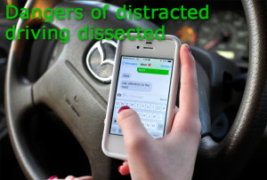Dangers of distracted driving dissected