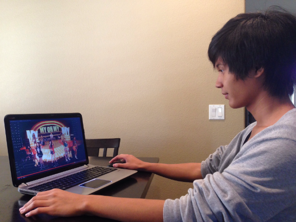 "Sophomore Tyler Antonio watched a new music video by Girls' Generation. He has kept up with the latest need concerning Korean pop. ""Since I consistently keep up with the K-pop industry, I immediately rushed to watch the new Girls' Generation song, 'My Oh My,"" and the teaser for Taeyang's album,"" Antonio said."