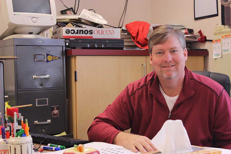 Previously the boys golf coach at Downey High School, Mr. Sanders now focuses on teaching AP European History and Economics. Sanders stopped coaching to focus on raising his family.