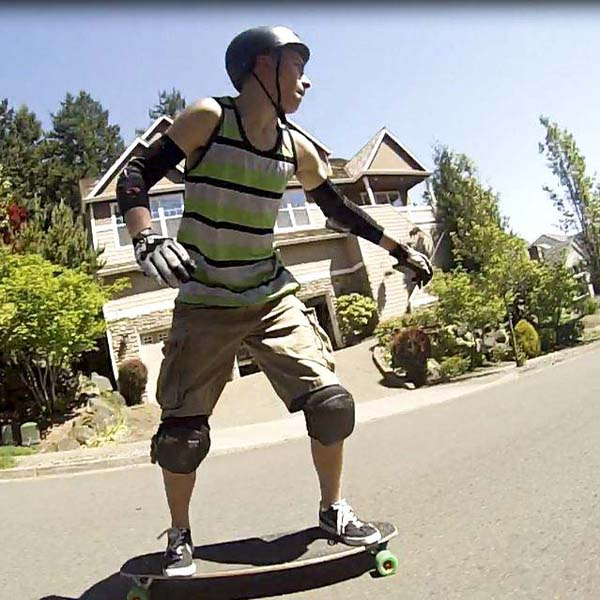 Longboarder balances safety, thrill to master art of speed