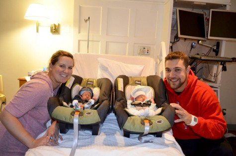 With birth of twins, athletic director experiences new outlook on life