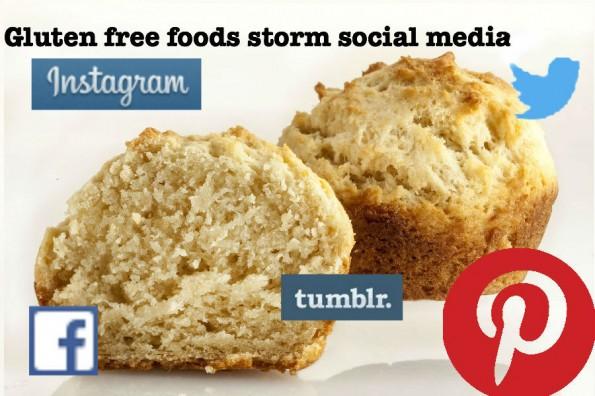 Gluten-free foods storm social media