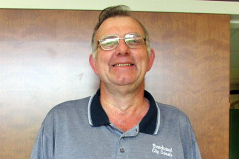 Jeff Hedrick's work ethic is not the only thing he brings to Beachwood High School. He is friendly with many of the employees in the school and can be seen at lunchtime giving advice, declaring his opinions, or trading jokes.