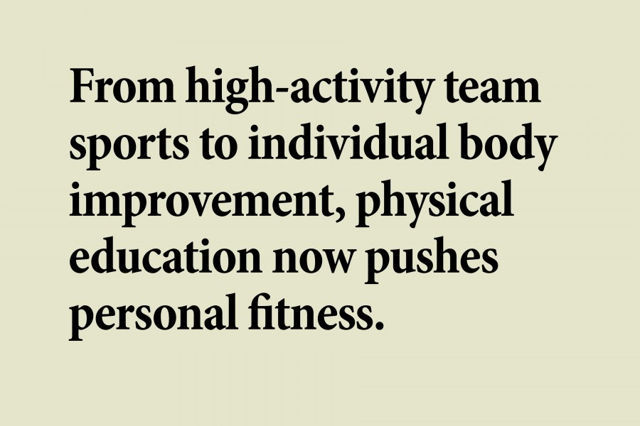 Fitness is new focus of physical education