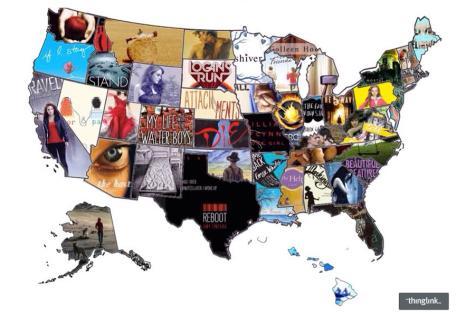 Read your way across America