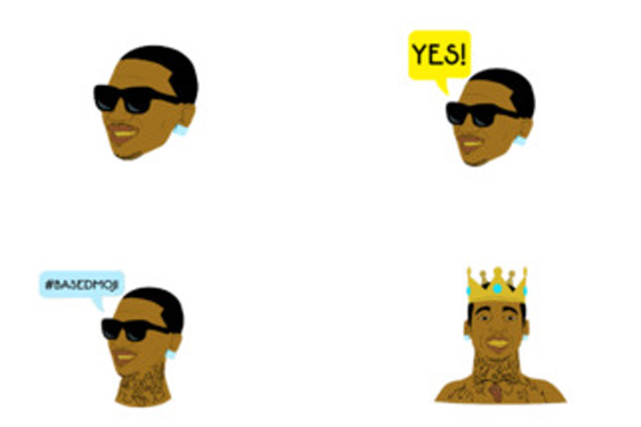 In the Basedmojis app, users can use emojis of Lil B to message their friends. These emojis offer a different alternative than the regular ones.
