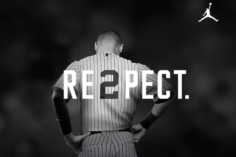 "Fans and players show ""RE2PECT"" for Derek Jeter"