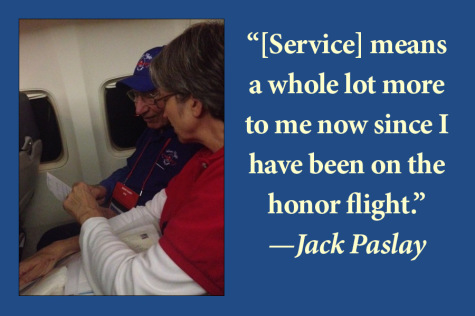 Honor Flight pays tribute to veterans