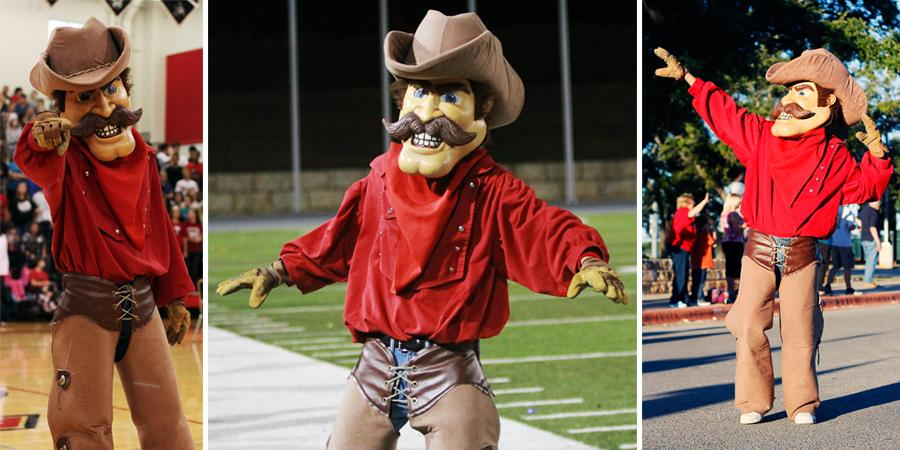 From meek to mascot: Detrick Bombarger gets rowdy