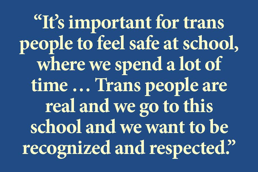 Group pushes for more options for transgender students on overnight trips