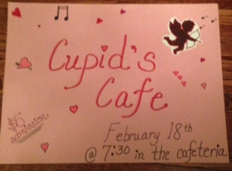 Class of 2016 takes over 'Cupid's Cafe'
