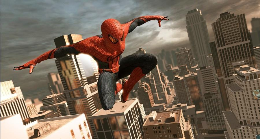 Spider-Man+catches+Marvel+in+web