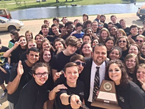 Band director leads students to success