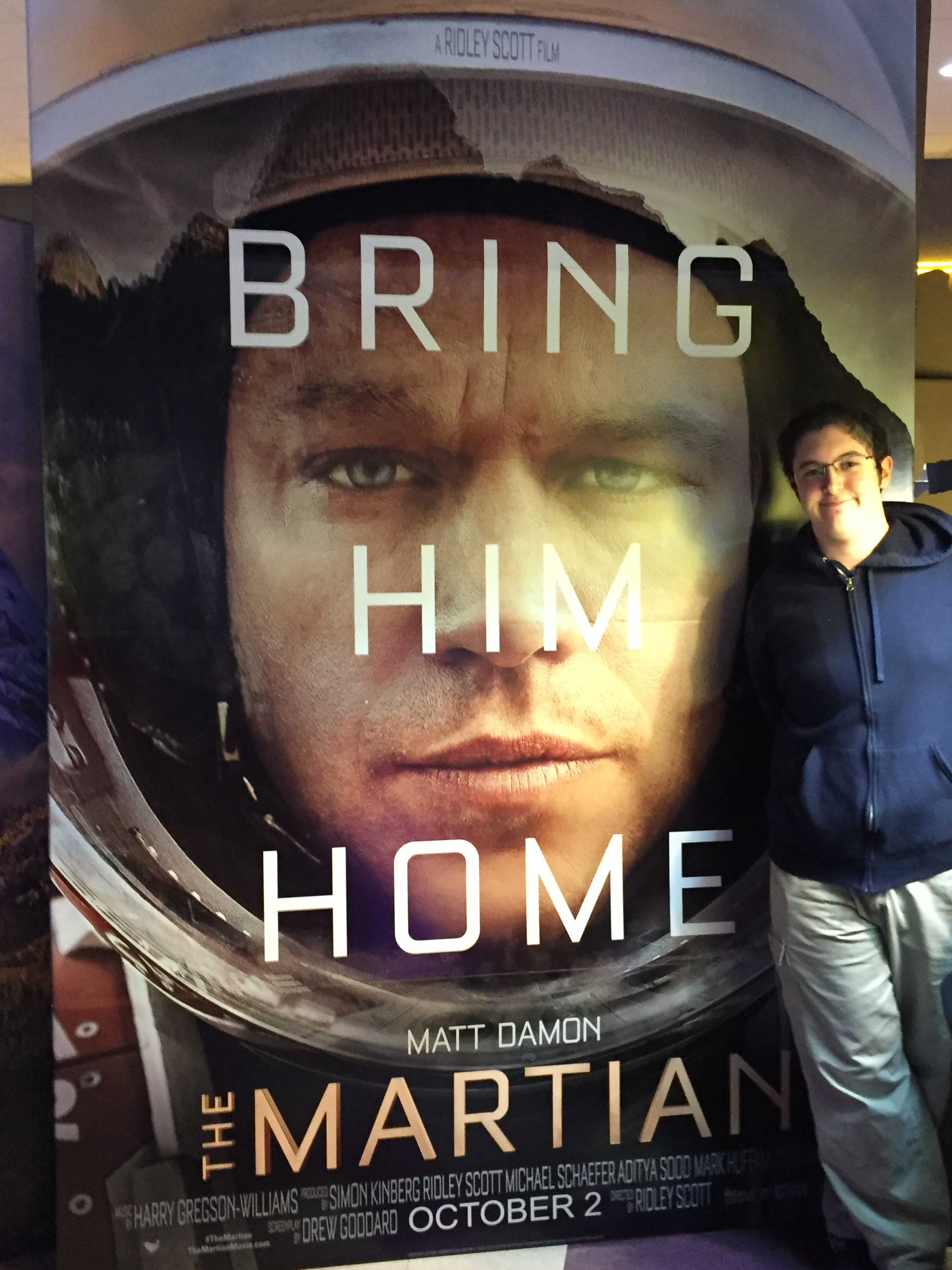 Movie Review The Martian Bring Him Home Best Of Sno