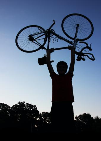 Biking the borders