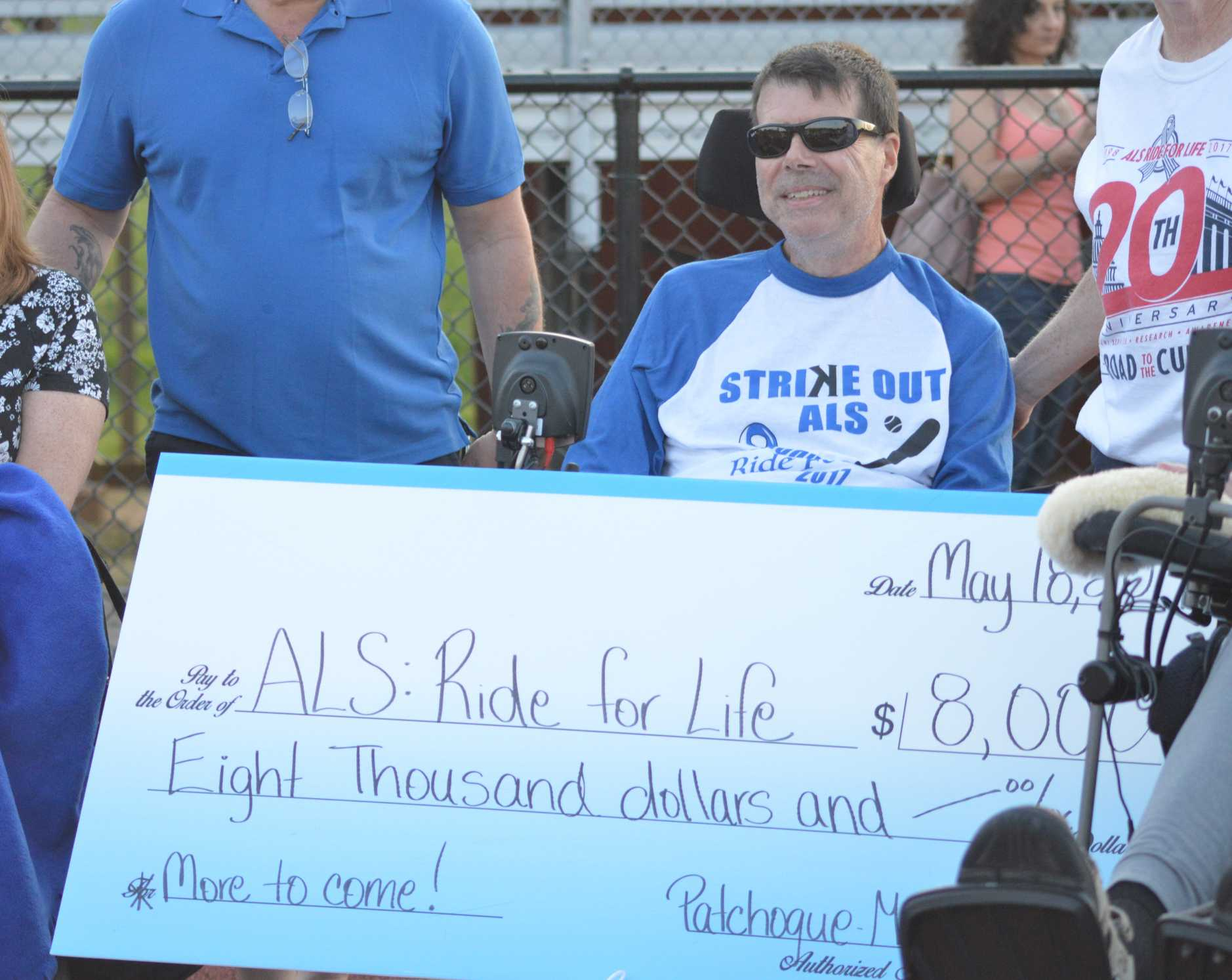 Community Bands Together to 'Strike Out ALS'