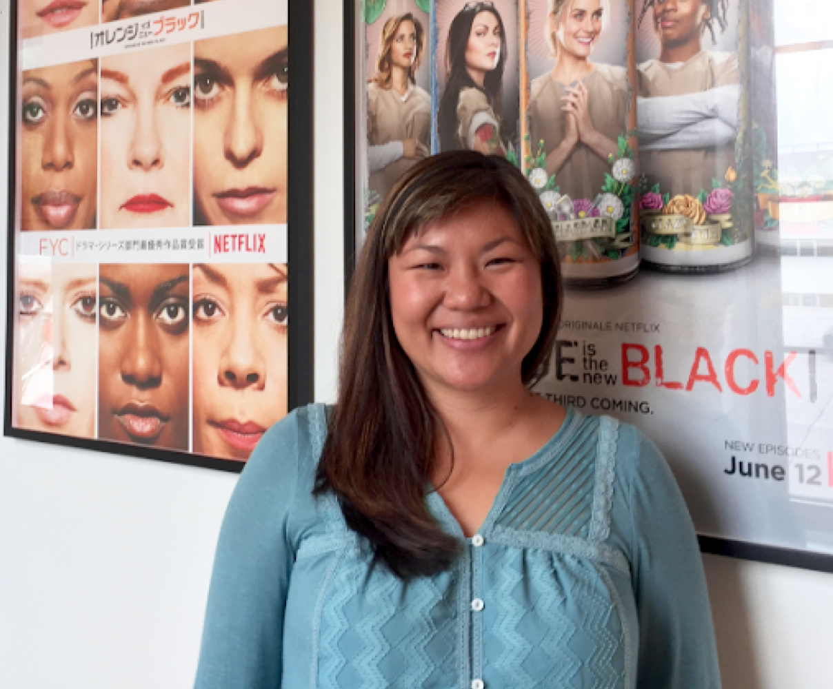 """""""Orange is the New Black"""" is also the Color of Success for alumni Heather Jeng Bladt"""