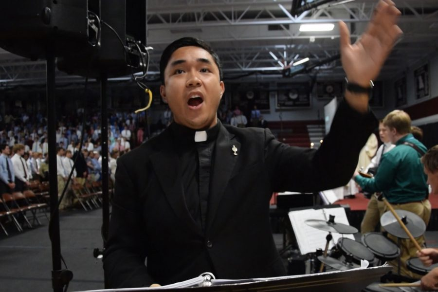 Jesuit novice makes impact on choir