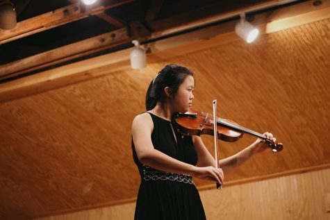 Carnegie Hall awaits junior violinist
