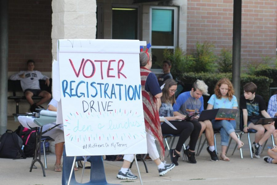 Rho Kappa Voter Registration Drive a Success