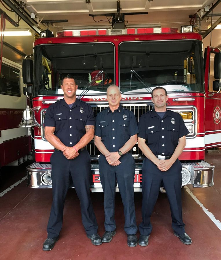 Woodside Firefighters Face Unrelenting California Flames