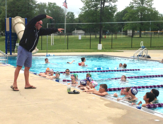 Swim team changes up the process