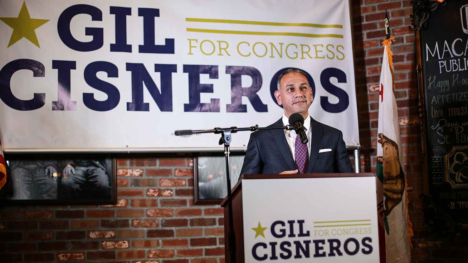 Democrat nominee, Gil Cisneros, hopes to flip CA-39 in the upcoming midterm election.