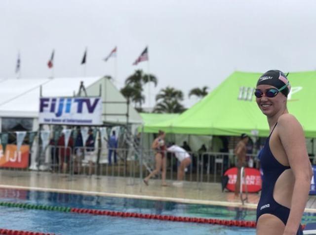 GLHS Swimmer Dives into Fiji