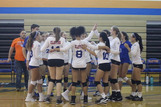 Clayton Volleyball Turns Over a New Leaf