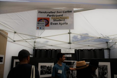 Evan Ajuria becomes the youngest to sell at the Art and Wine Festival