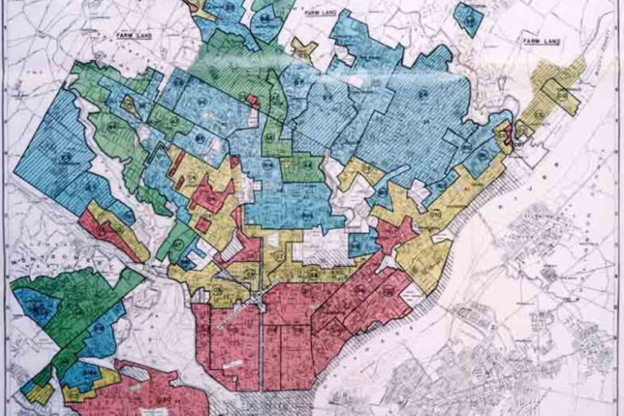 Redlining was used for decades to decide where the FHA and VA would ensure loans. Houses in areas with African American residents usually did not qualify. This policy was blatantly unconstitutional because it made African Americans second class citizens.