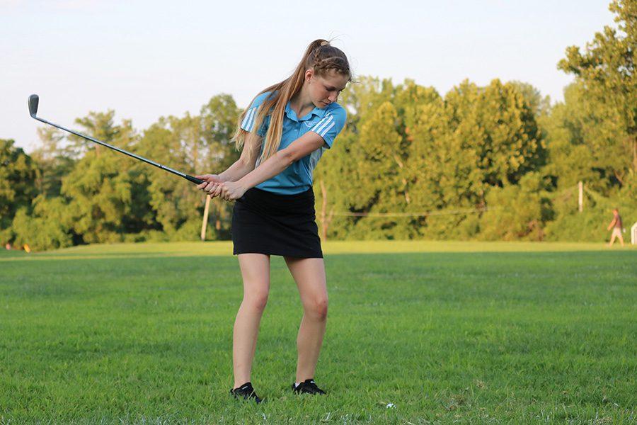JV girls' golf faces undefeated season