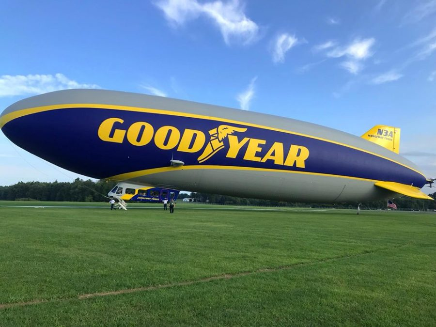 Goodyear Welcomes Wingfoot Three, Celebrates History