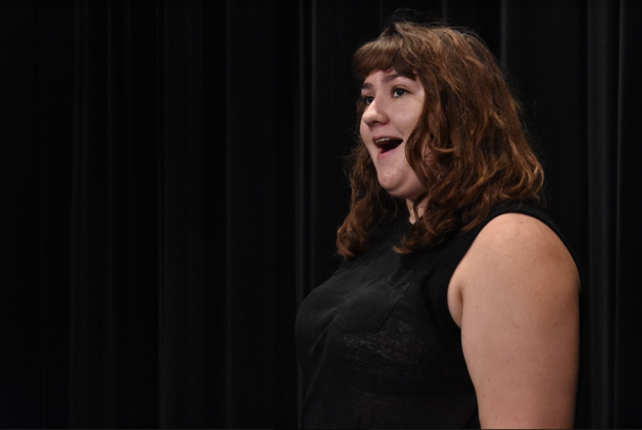 Senior with Unique Opera Talent Captures Audiences