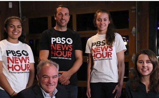 PBS NewsHour Features Student Story on What Drives Young Voters in Virginia