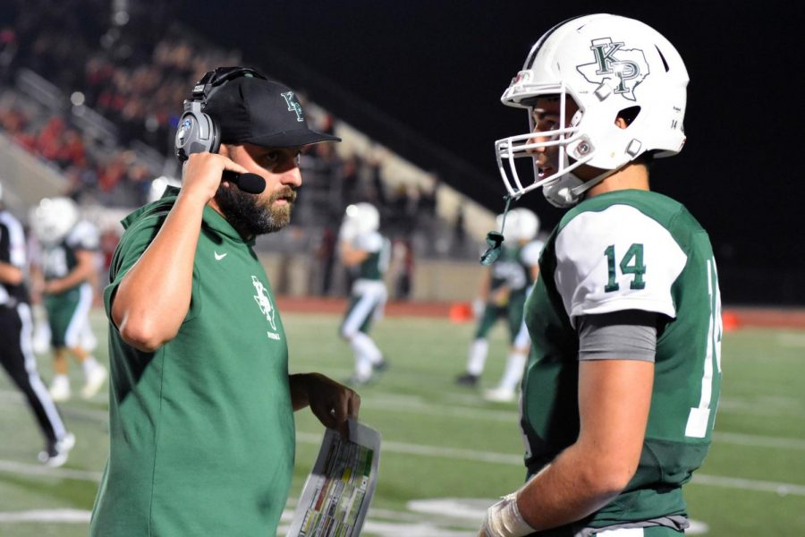 Support from coach key in senior's transition to quarterback