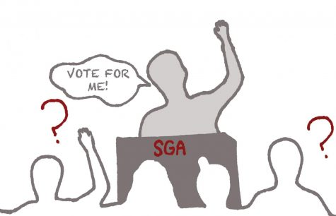 SGA's role not fully communicated to students